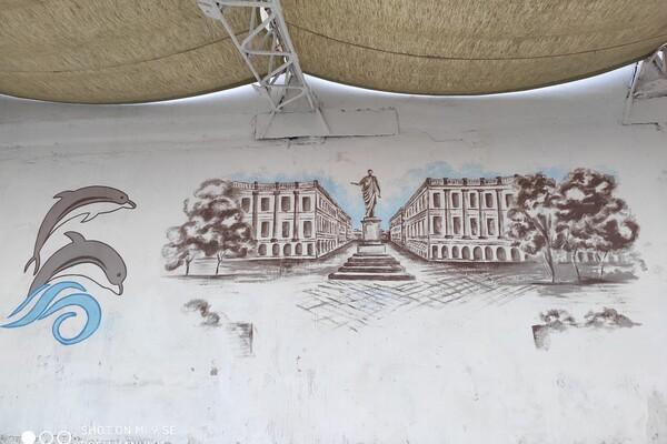 Аркадию украсили пейзажами достопримечательностей Одессы (фото)