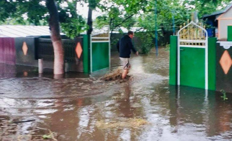На юге Одесской области ураганный ветер и ливневый дождь порвали ЛЭП и смывали урожай (фото, видео)