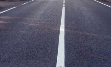 Арцизский район: на трассе «Серпневое - Тарутино - Арциз – Сарата» наносят разметку