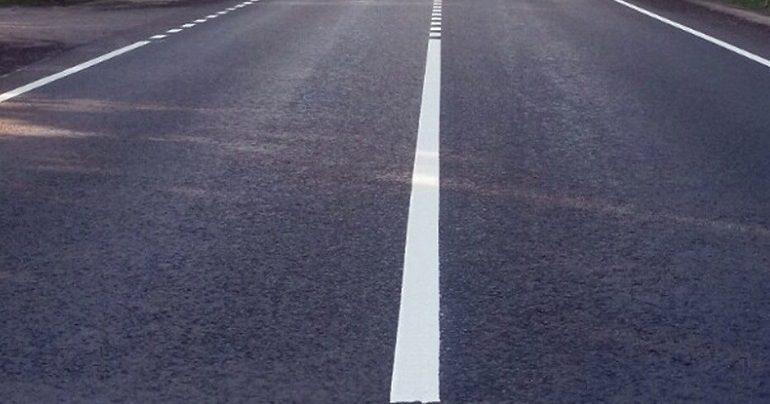 Арцизский район: на трассе «Серпневое — Тарутино — Арциз – Сарата» наносят разметку