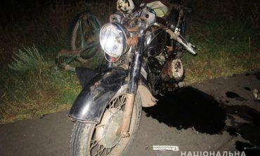 В Измаильском районе мотоцикл столкнулся с мопедом: пострадали шесть человек