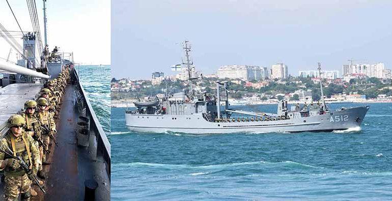 Болградские морпехи отметили День ВМС Украины
