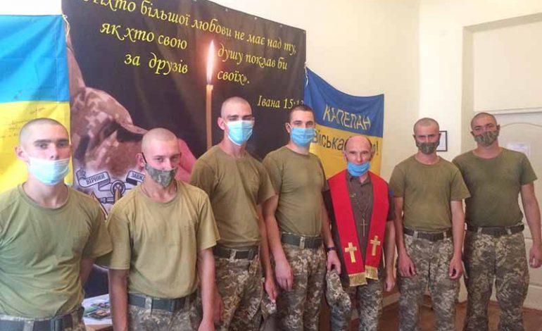 У болградских морпехов появился духовный центр