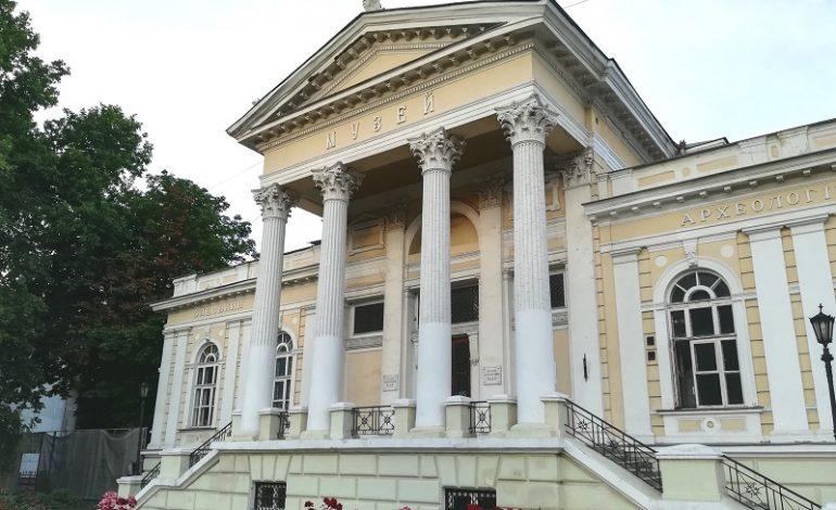 Здание одесского археологического музея аварийно: находиться рядом опасно (фото)