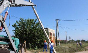 Где в Белгороде-Днестровском начали ремонтировать уличное освещение