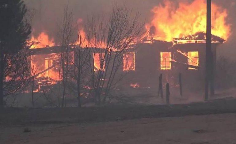В Белгород-Днестровском районе полыхают пожары