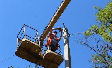 Где в Белгороде-Днестровском продолжают ремонт уличного освещения