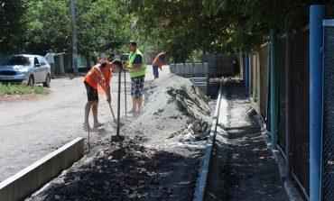 В Белгороде-Днестровском благодаря участию людей ремонтируют тротуары