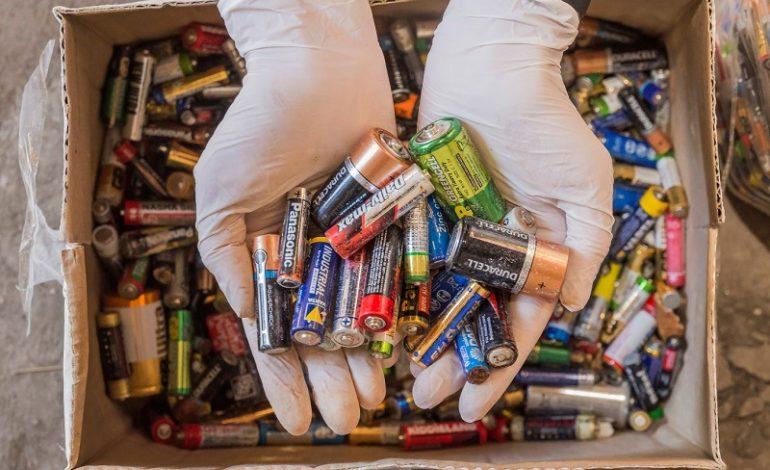 Десятки тысяч батареек из Одессы отправились на переработку в Румынию (фото)