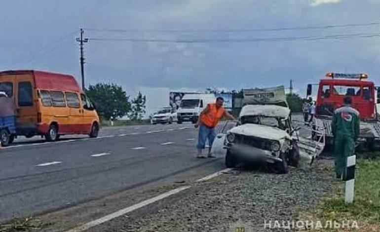 На трассе Одесса-Рени произошло ДТП с тремя пострадавшими