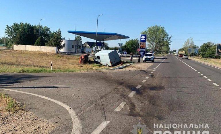 В Измаильском районе в ДТП пострадали два человека