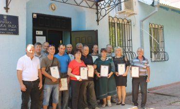 В Арцизе  по случаю Дня города награждены лучшие специалисты коммунальных предприятий (фото)
