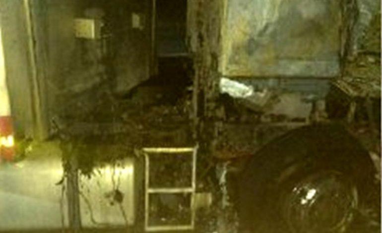 В Татарбунарах ранним утром сгорел грузовик