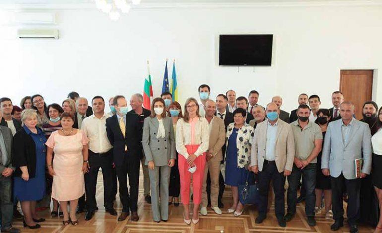 В Украине с визитом побывала министр иностранных дел Болгарии