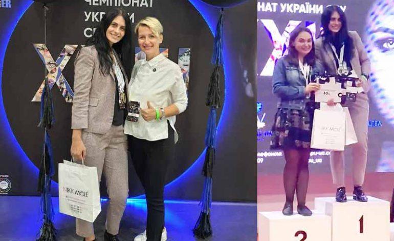 Не спортом единым: бровистка из Болграда стала чемпионкой Украины