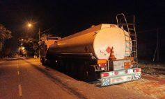 В Измаиле ночью полицейские задержали грузовик с тоннами контрафактного топлива