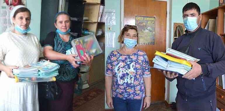 В Болградском районе помогли многодетным семьям