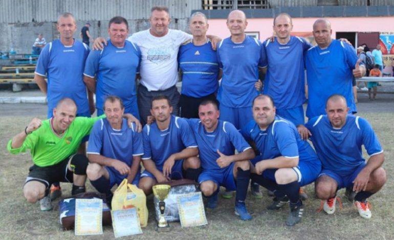 В Арцизе свои силы оценивали ветераны футбола