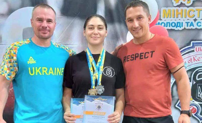 Уроженка Болградского района стала чемпионкой Украины по гиревому спорту