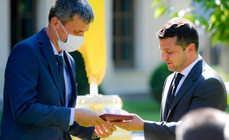 Президент Украины наградил гагауза из Ренийского района государственным орденом