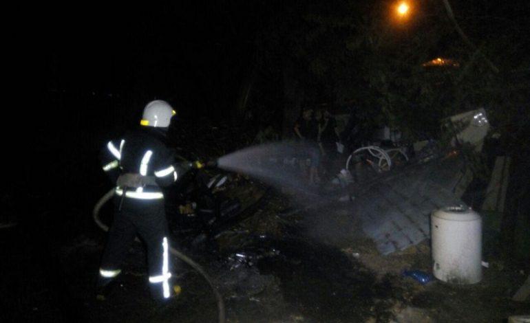 Одесса: на Ланжероне случился пожар в прибрежном кафе