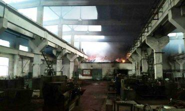 Килийский район: в Вилково горел бывший завод прессовых узлов