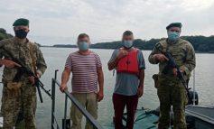 В Килийском устье Дуная пограничники снова задержали румынских рыбаков