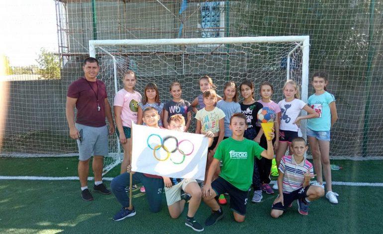 В Арцизе  школьники  делали свои новые шаги к олимпийским медалям