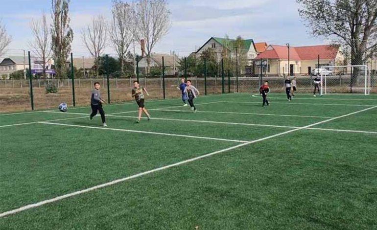 В Болграде торжественно открыли спортивную площадку, построенную полгода назад