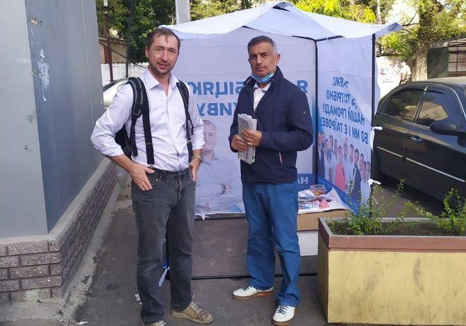 Грязные технологии: в Таировской ОТГ препятствуют агитации кандидатов от «Нашего края»