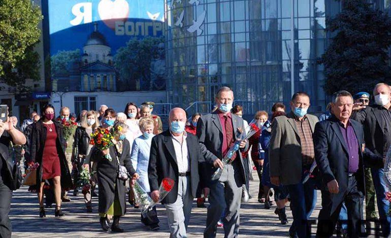 В Болграде помянули погибших десантников