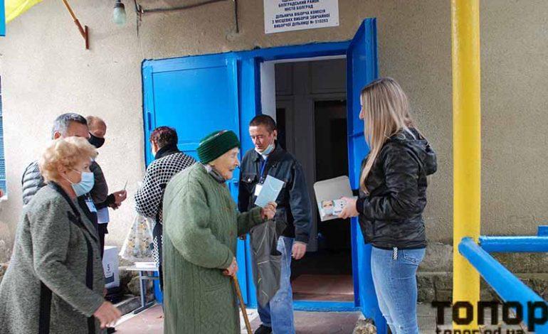 В Болграде позаботились обо всех избирателях
