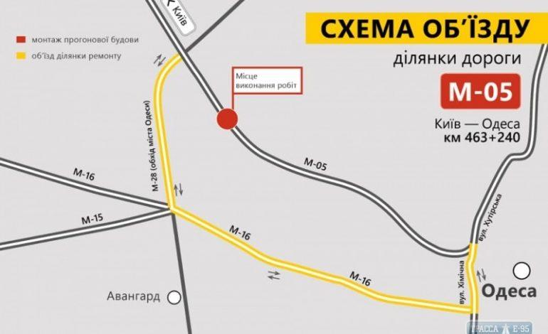 Трассу Киев-Одесса на въезде в город временно закроют