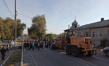 Жители Татарбунар перекрыли трассу Одесса—Рени
