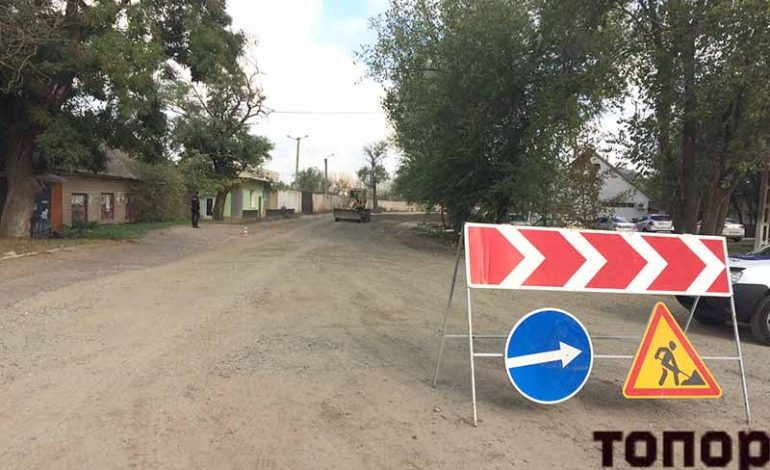В Болграде начали ремонт дороги Болград — Табаки