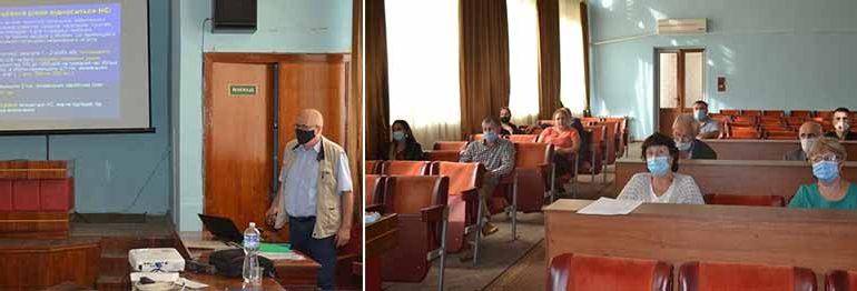 В Болграде готовились к действиям в чрезвычайных ситуациях
