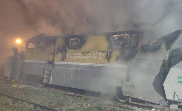 Что горело на железнодорожной станции  в Белгороде-Днестровском