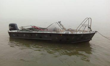 Измаильские пограничники задержали румынских рыбаков, заблудившихся на Дунае