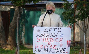 «Мы будем счастливые и тупые»: в Рени состоялась акция протеста родителей школьников
