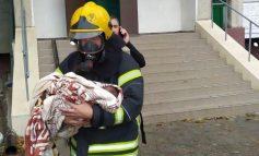 В Белгород-Днестровском районе пожарные эвакуировали жителей многоэтажки из-за возгорания в щитовой