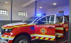 Автопарк болградских спасателей пополнился новым спецавтомобилем