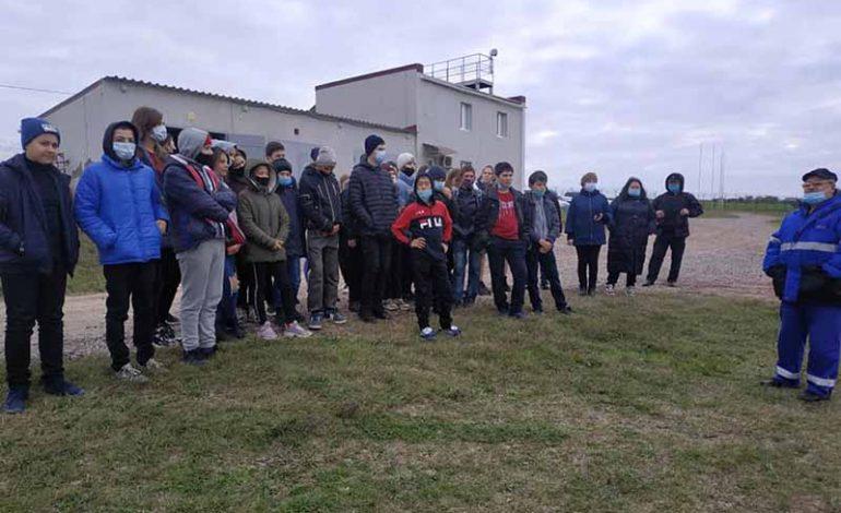 Школьникам Болградского района рассказали о профессии энергетика