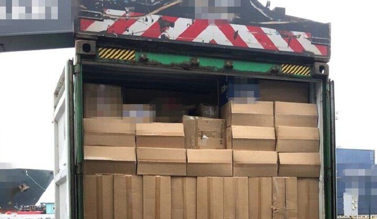 В Одесском порту перехватили контрабандные сигареты на 20 млн гривен