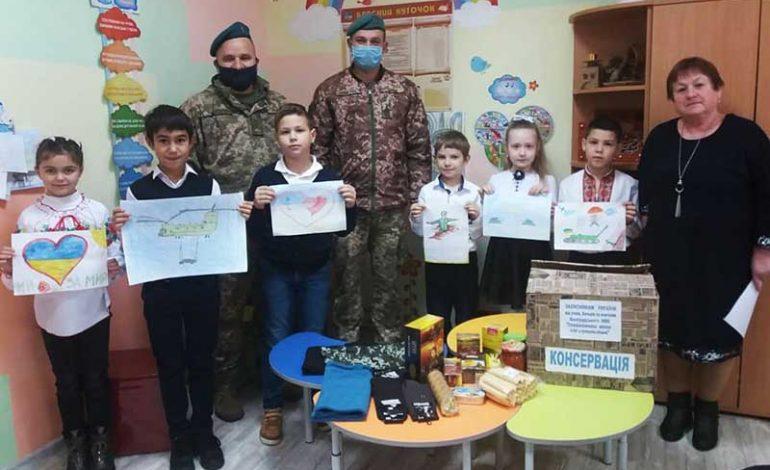 Болградские школьники поддерживают защитников Украины