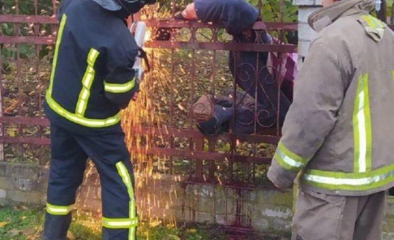Под Одессой мужчина повис на металлической ограде: вызывали спасателей