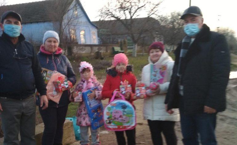 В Арцизе детей погибших участников АТО и детей-сирот поздравили с новогодними праздниками