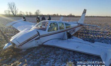 В Киевской области упал самолет