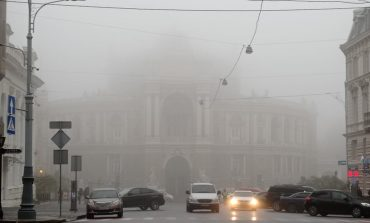 Одесса погрузилась в густой туман (фоторепортаж)