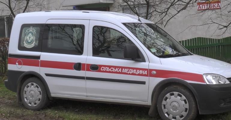 В четырёх сельских амбулаториях Ренийской громады появился служебный автотранспорт