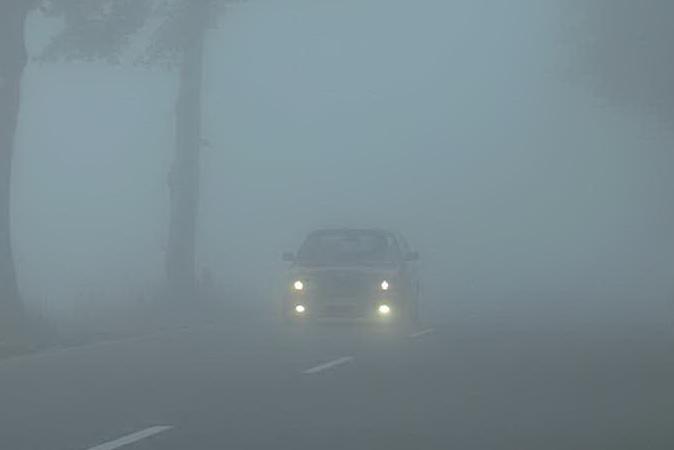 В большинстве регионов Украины в понедельник ожидается густой туман